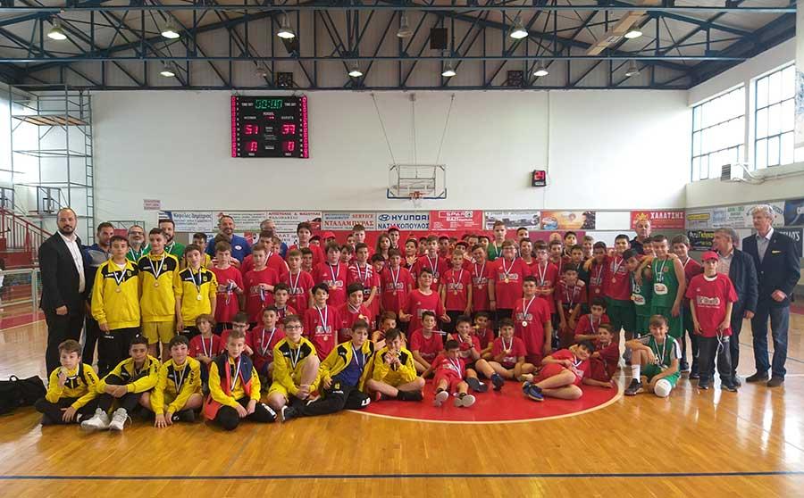 Τουρνουά Μπάσκετ για παιδιά διοργάνωσε ο Γυμναστικός Σύλλογος Νίκαιας
