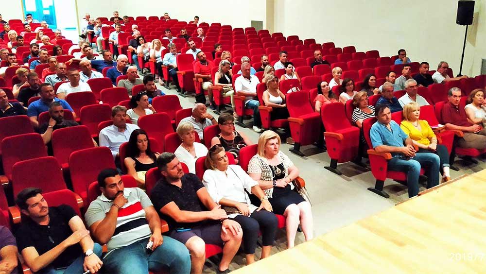 Συνάντηση Θ. Νασιακόπουλου με τους νεοκλεγέντες προέδρους και τα τοπικά συμβούλια των κοινοτήτων