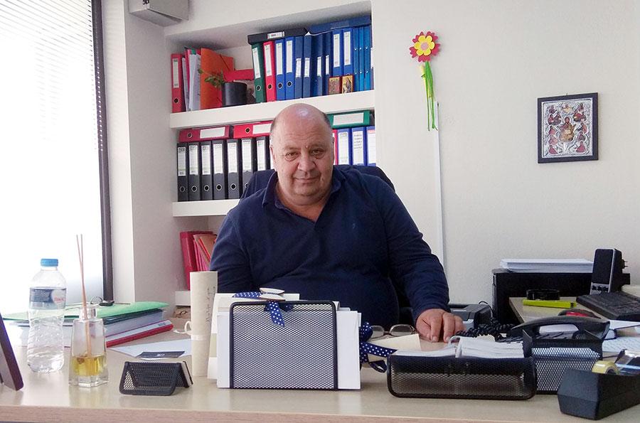 Ο Αντιδήμαρχος Καθαριότητας Δήμου Κιλελέρ, Χρ. Χατχούλης