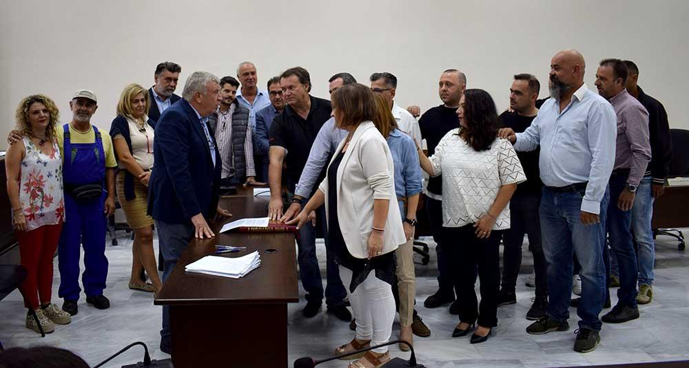 Ορκίστηκαν οι επιτυχόντες της προκήρυξης 3Κ στο Δήμο Κιλελέρ