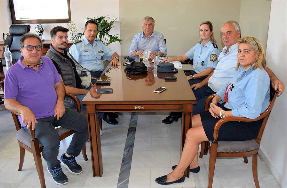 Εθιμοτυπική επίσκεψη του Αστυνομικού Διευθυντή Ν. Λάρισας στο Δήμαρχο Κιλελέρ