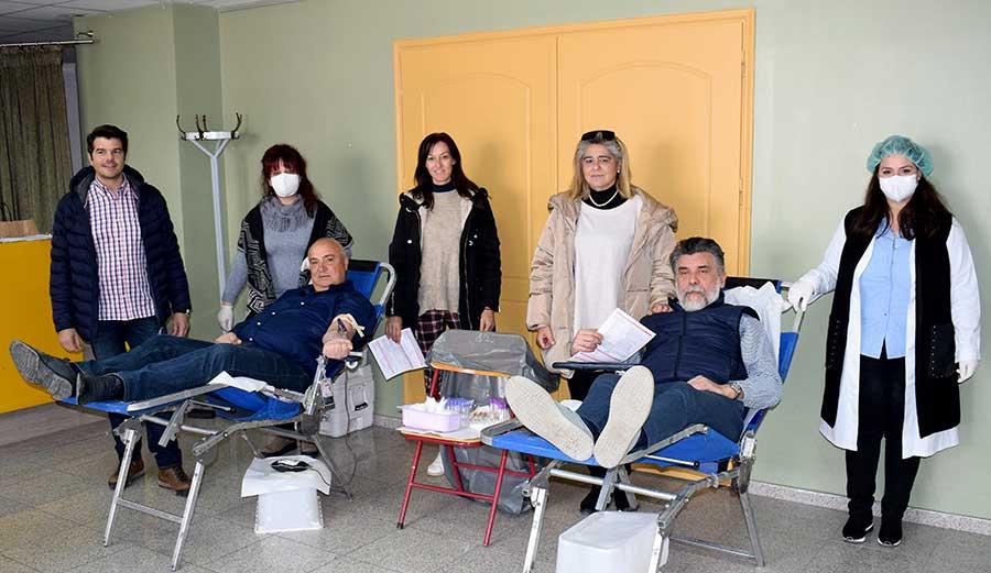 Αιμοδοσία στο Δήμο Κιλελέρ