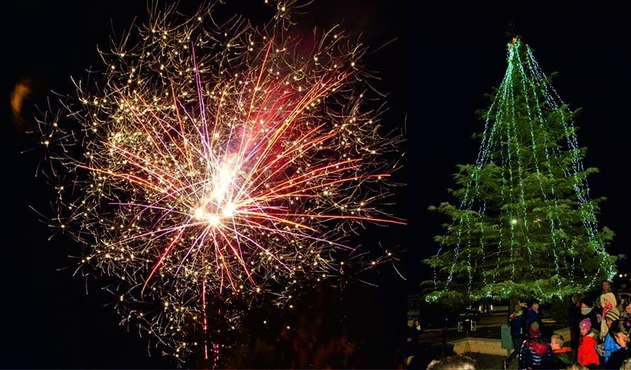Άναμμα του Χριστουγεννιάτικου δέντρου στο Νέο Περιβόλι του Δήμου Κιλελέρ